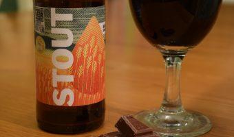 Big Drop low-alcohol Stout label