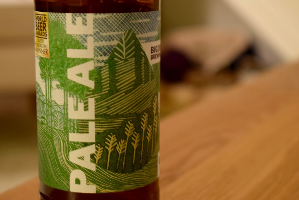 Pale Ale Big Drop Brewing Co label