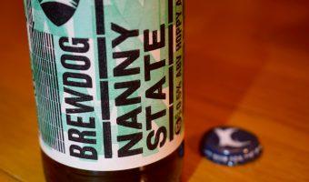Brewdog Nanny State label close up