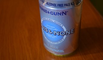 Innis and Gunn 'Innis and None' 0% pale ale can
