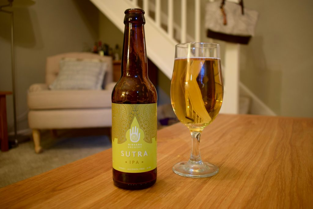 Nirvana Sutra IPA low alcohol beer