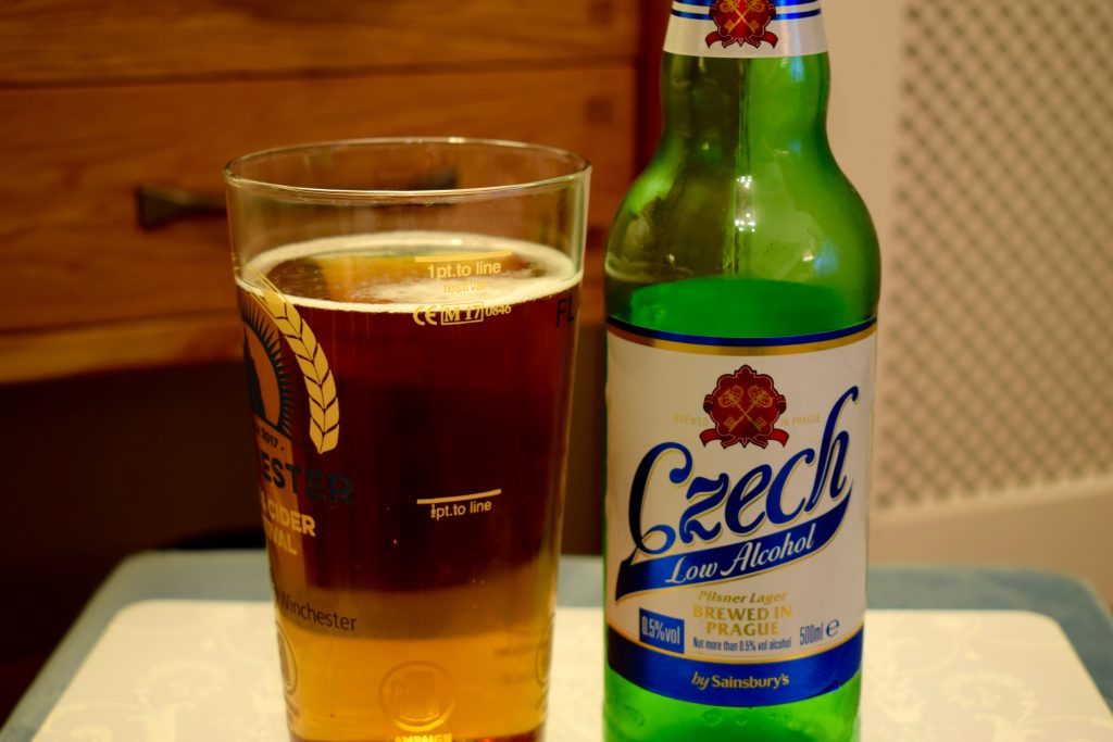 Sainsbury's low-alcohol Czech pilsner