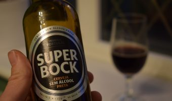 "Super Bock ""Preta"" low-alcohol (0.45%) stout review"