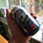 "Pistonhead ""Flat Tire"" (0.5%) non-alcoholic lager by Brutal Brewing"