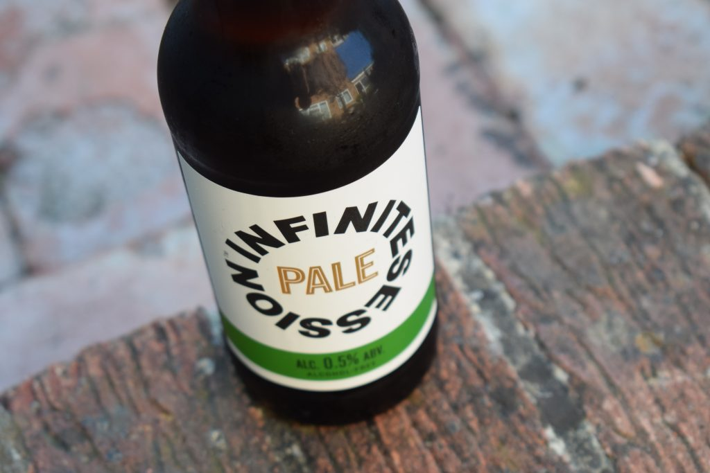 Infinite Session Pale bottle and label