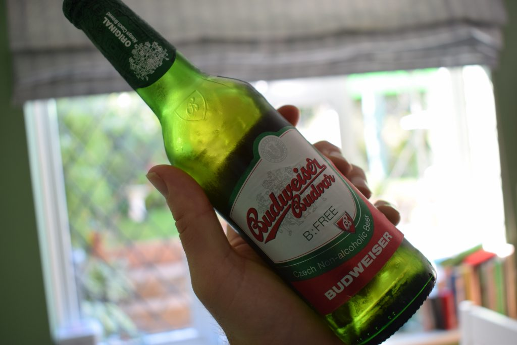 Budweiser Budvar B:Free Alcohol-Free Lager bottle