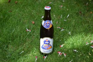 """Schneider Weisse """"Alkoholfrei"""" (""""Tap 3"""") low-alcohol (0.5%) wheat beer review"""