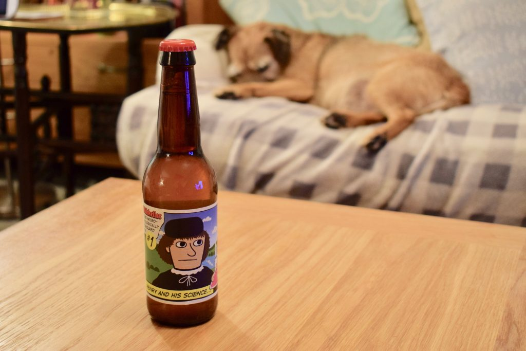 Mikkeller Henry Science alcohol free beer bottle