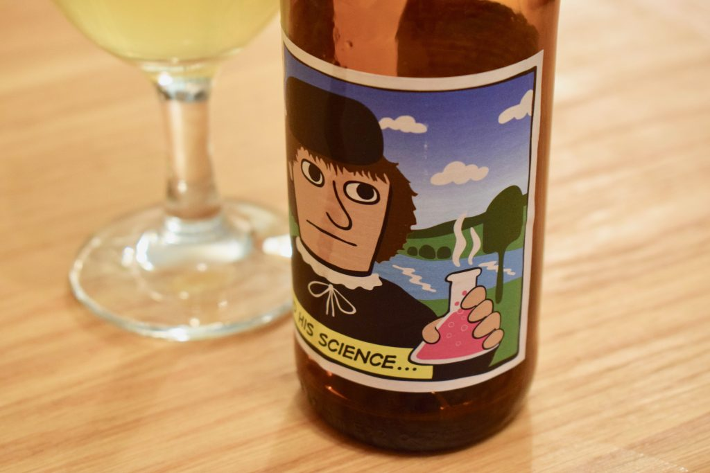 Mikkeller Henry Science alcohol free beer label