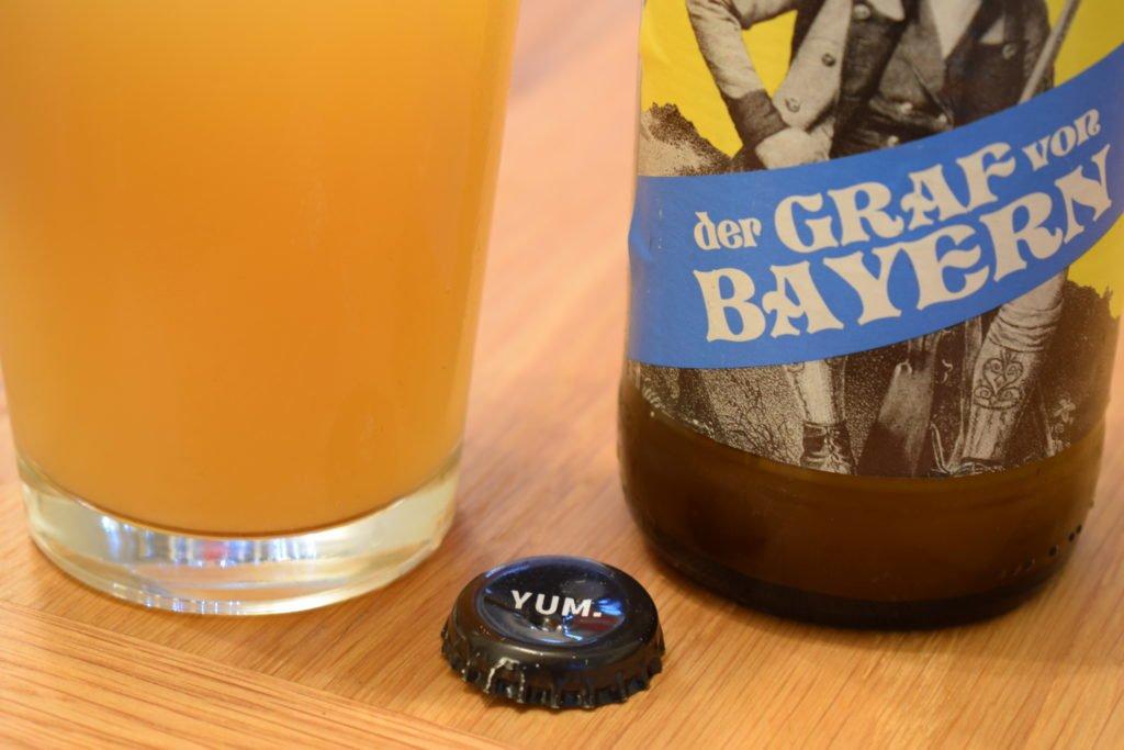 Der Graf Bayern alcohol-free beer label