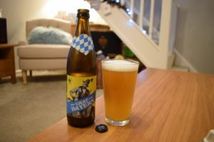 """And Union """"Der Graf Von Bayern"""" Low-Alcohol (0.4%) wheat beer review"""