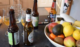 Non-alcoholic beers and healthy foods