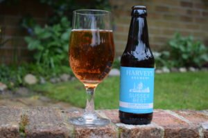 Sussex Best alcohol free bottle and glass