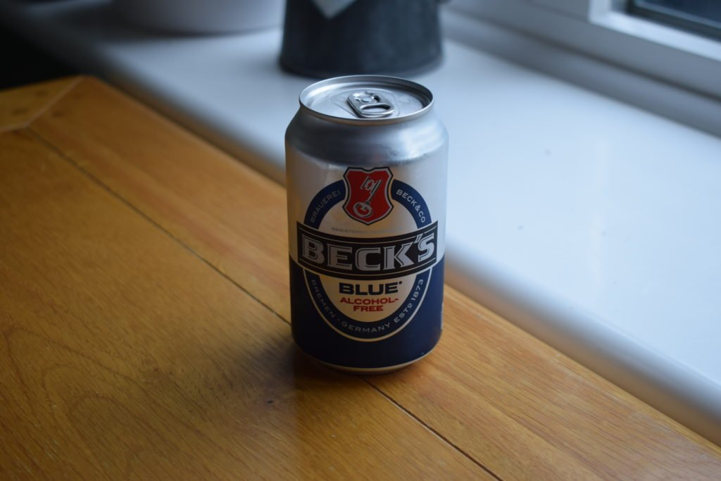 Beck's Blue can