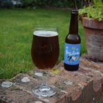 Bottle and glass of Laine Brew Co King Limbo alcohol-free IPA