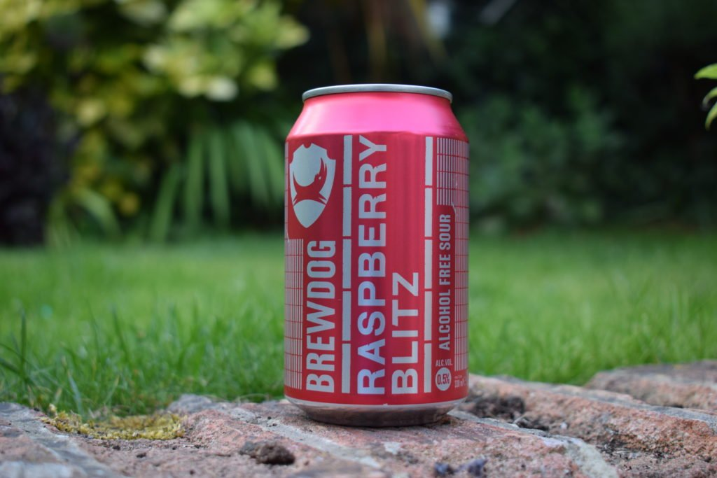 Brewdog Raspberry Blitz can
