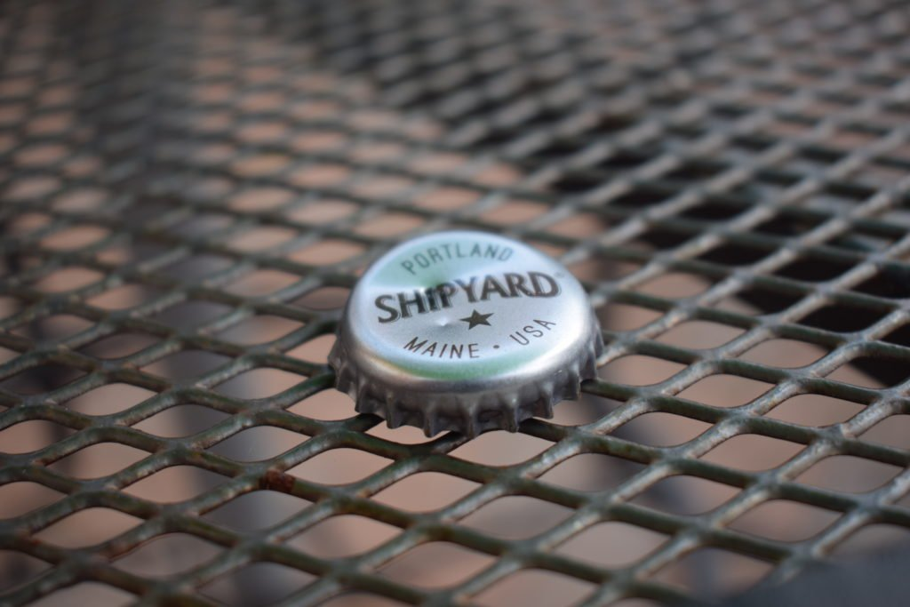 Shipyard Low Tide American pale ale bottle top