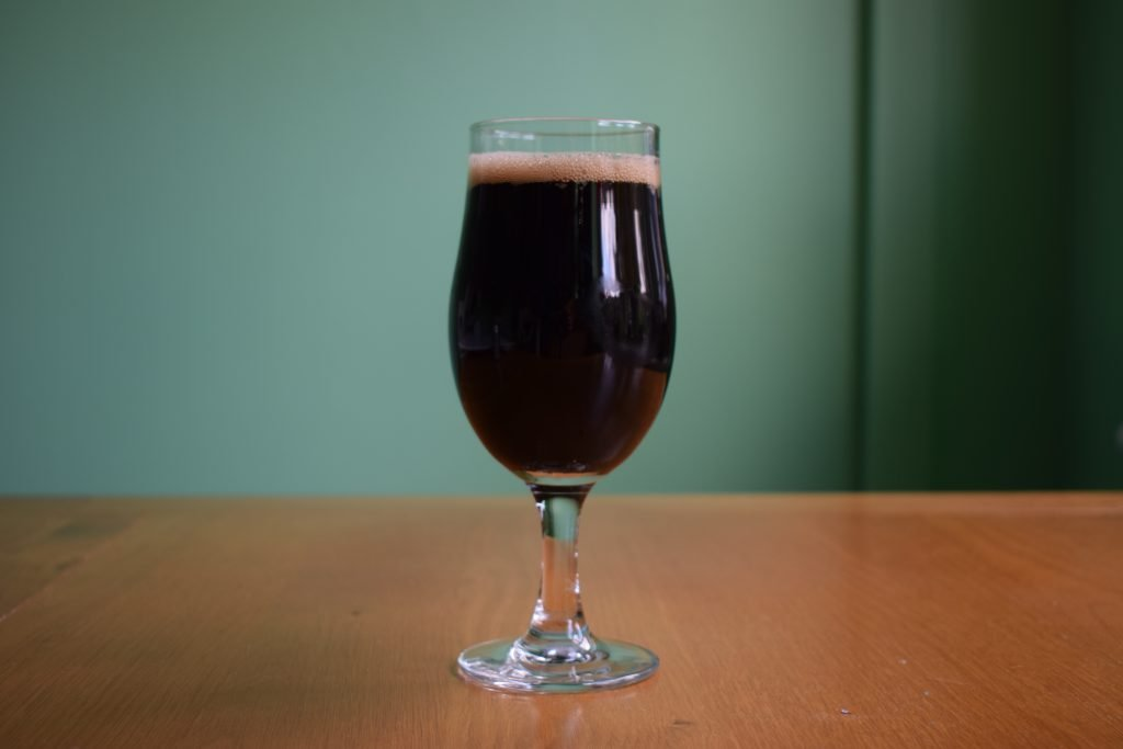 Glass of Brewdog Wake Up Call Alcohol-Free Stout