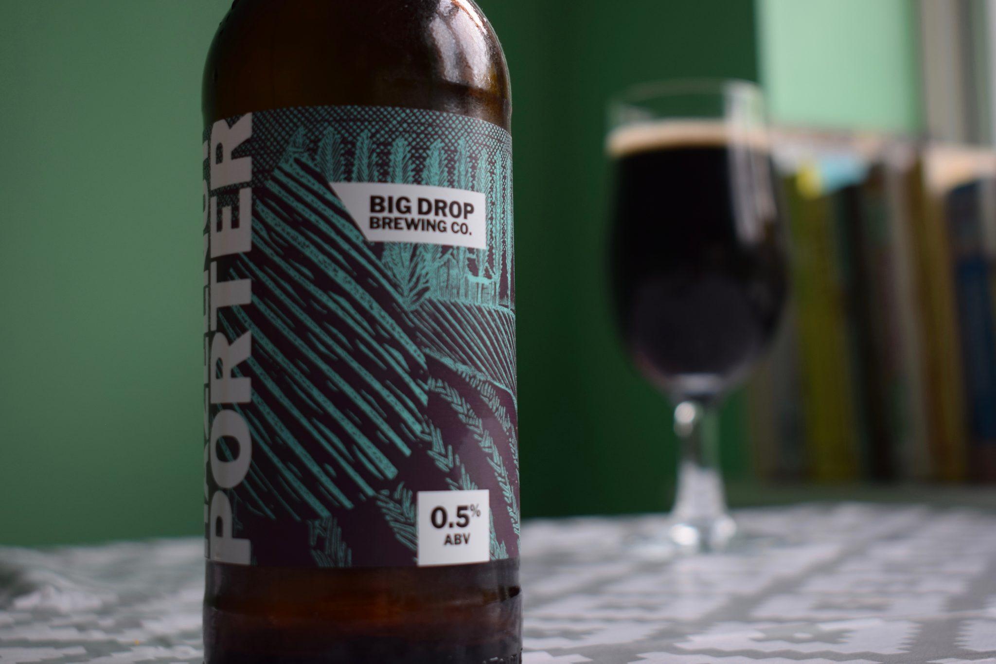 """""""Hazelnut Porter"""" (0.5%) by Big Drop"""