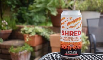 Drygate Shred non-alcoholic citrus pale ale can
