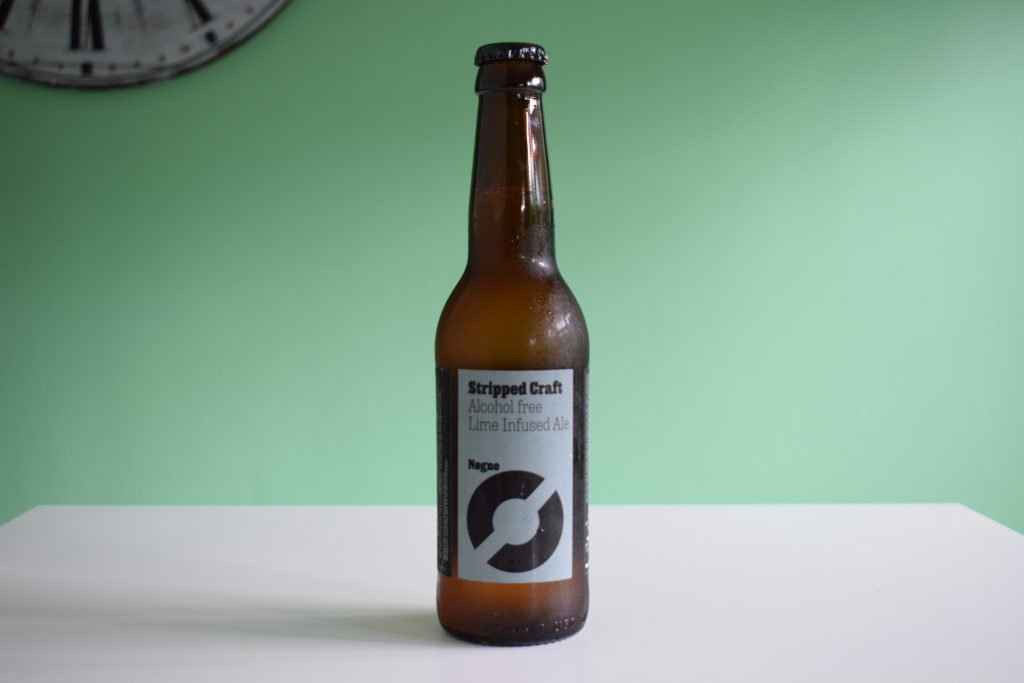 Nogne Stripped Craft non-alcoholic beer bottle