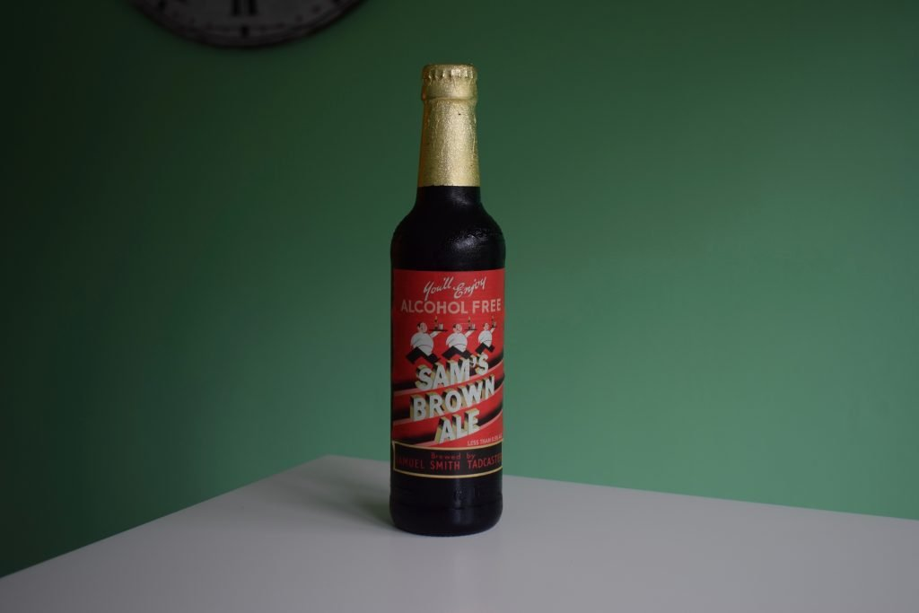 Samuel Smith's Sam's Brown Ale Alcohol Free bottle