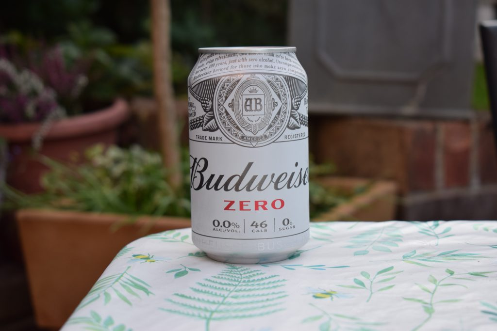 Budweiser Zero Non-alcoholic beer can