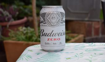 Budweiser Zero Non-alcoholic beer can