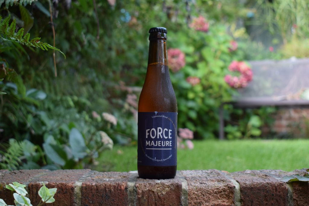 Force Majeure Alcohol Free Blonde bottle