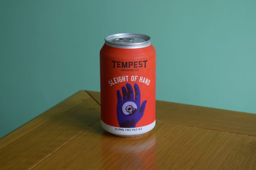 Tempest Sleight of Hand NA beer can
