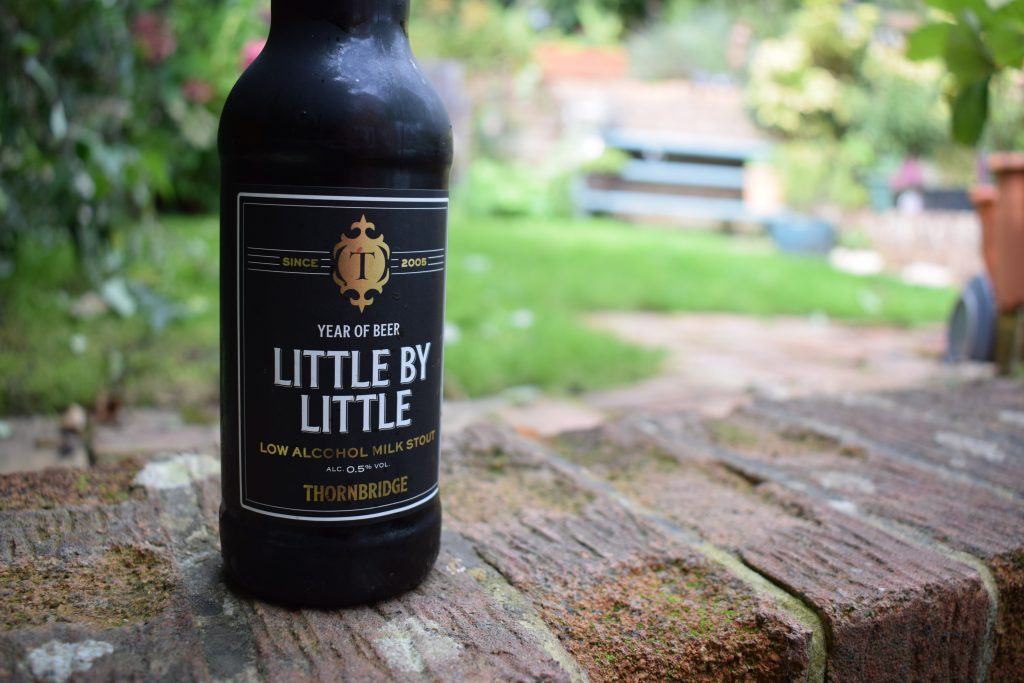 Thornbridge Little by Little non-alcoholic beer bottle label