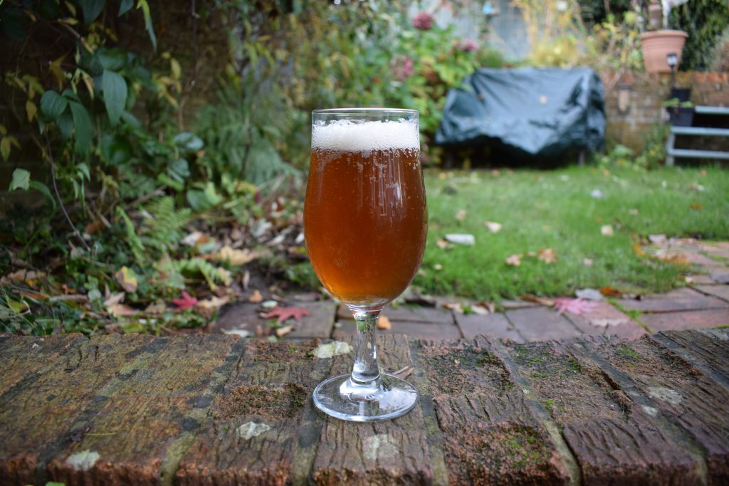 Force Majeure Tripel in a glass