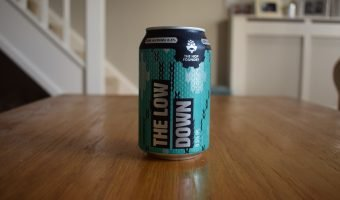 Aldi/Hop Foundry Low Down non-alcoholic IPL can