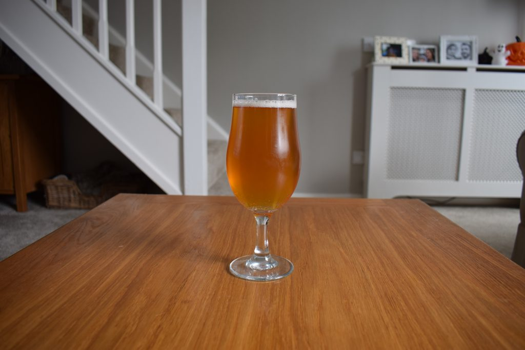 Upflow Pale Ale in glass