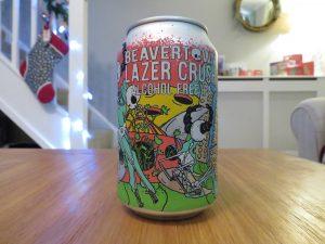 Beavertown Lazer Crush non-alcoholic IPA can