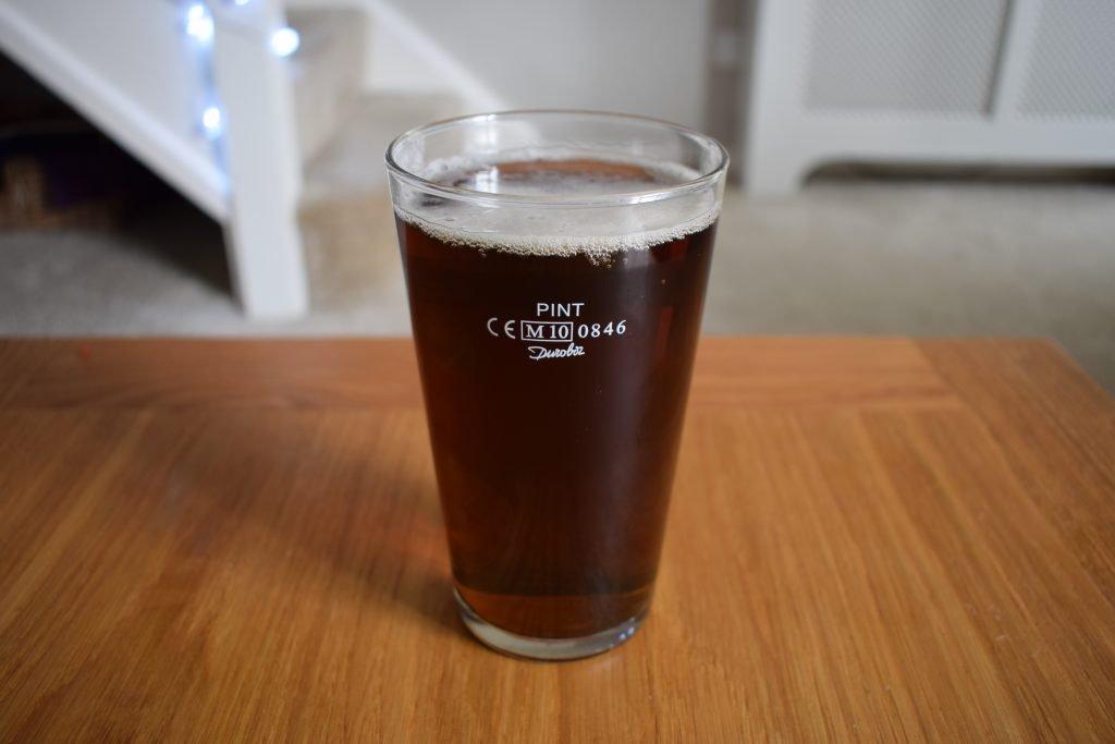 Pint of Doom Bar Zero non-alcoholic beer