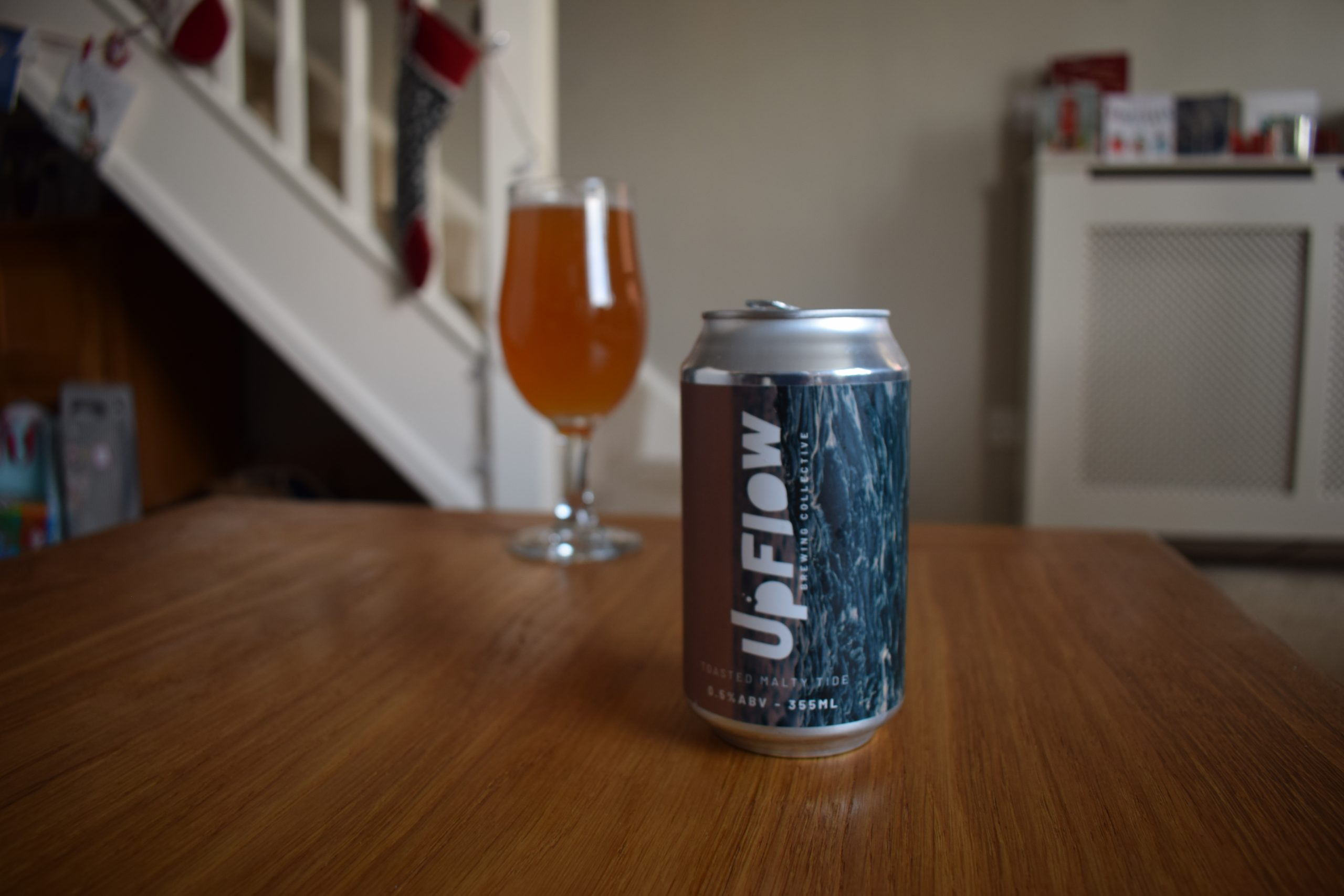 """Malty Tide"" (0.5%) by Upflow"