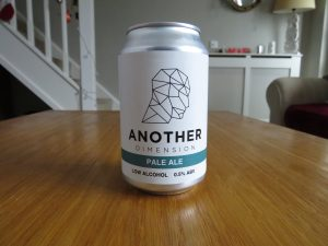 Another Dimension Pale Ale can