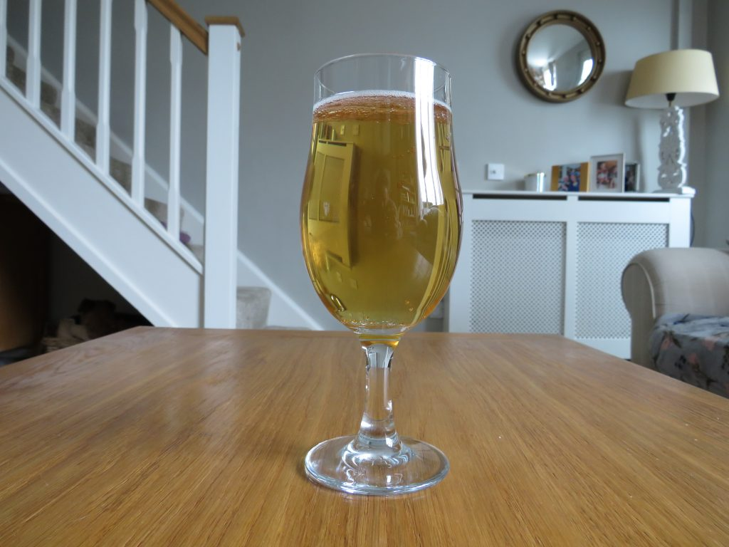 Days Lager glass