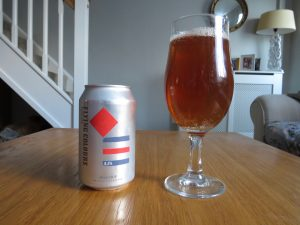 Jump Ship Flying Colours pale ale glass and can
