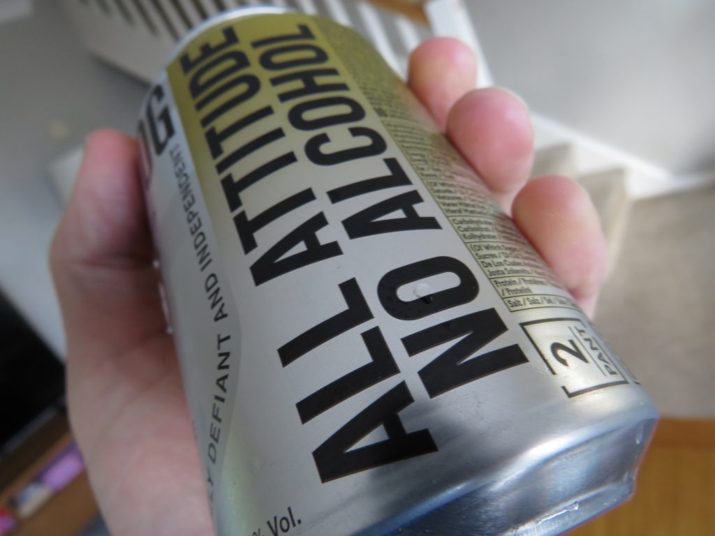 Side of Brewdog Lost AF non-alcoholic lager can