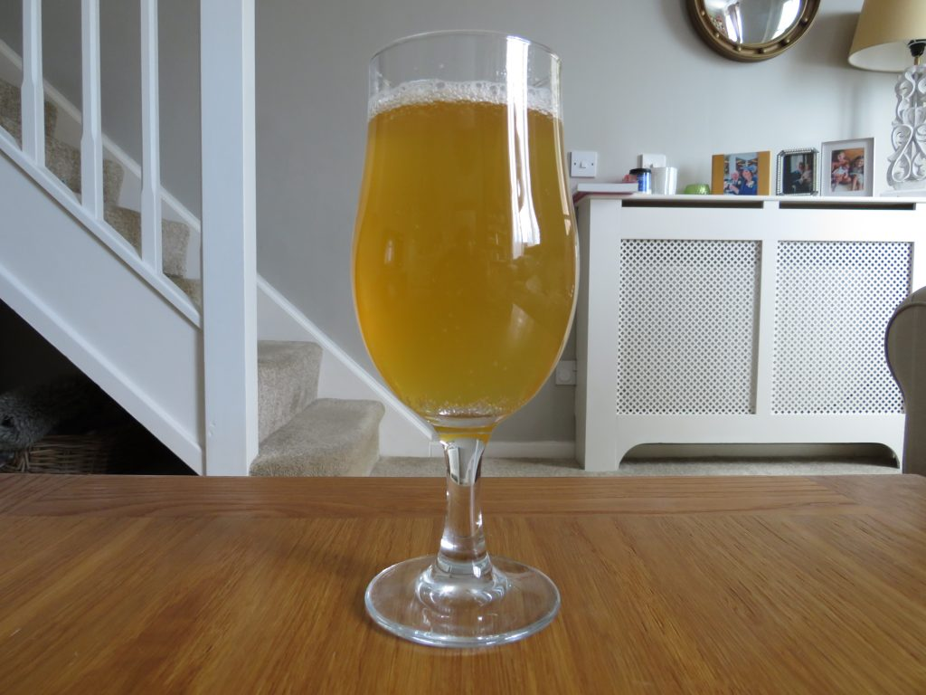 First Chop Anytime IPA in glass