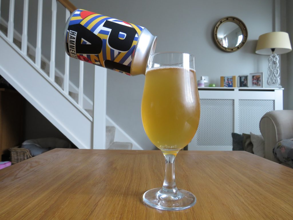 Hammerton Zed non-alcoholic pale ale can and glass