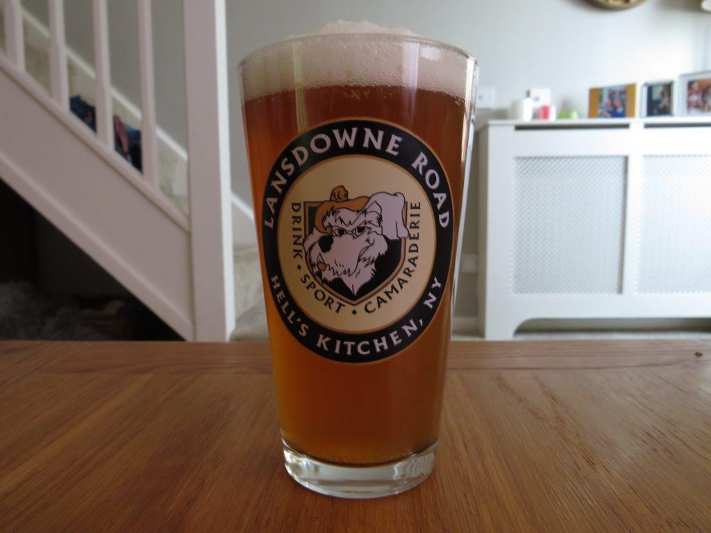 Lowtide Brewing DIPA Toe In in a glass