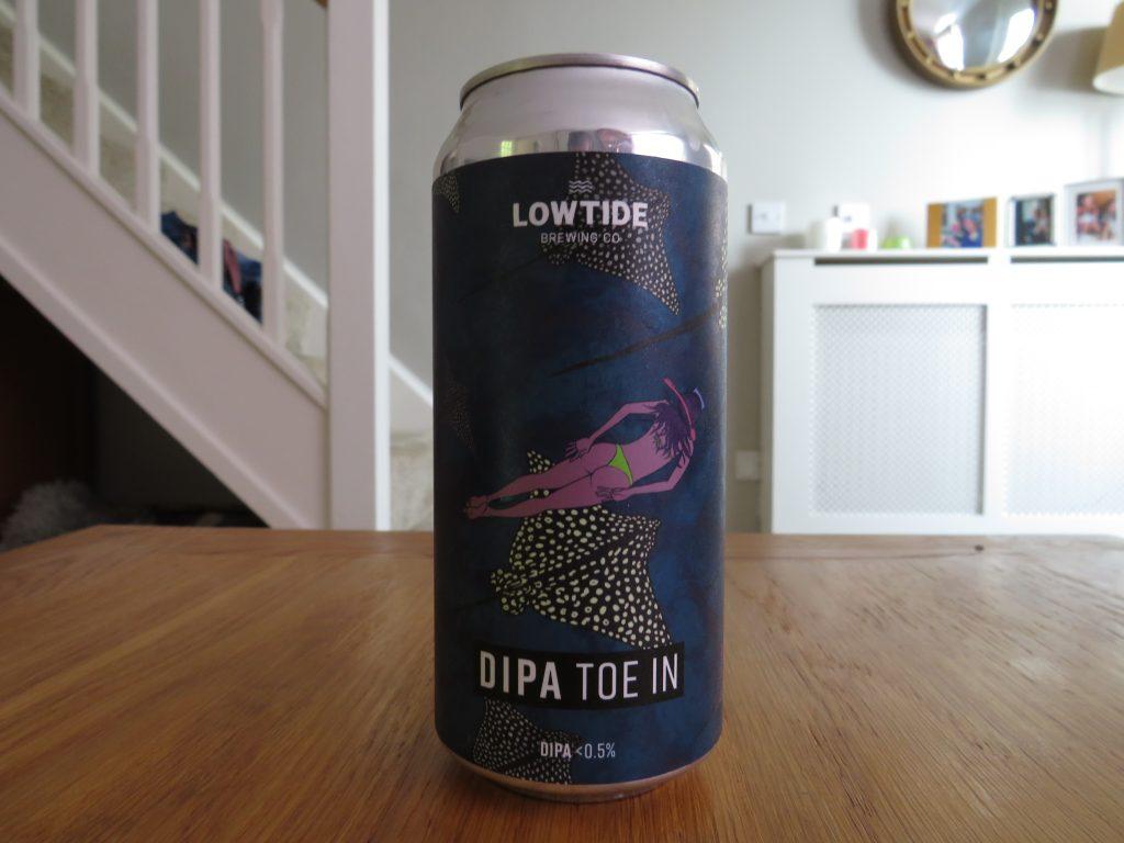 Lowtide Brewing DIPA Toe In can