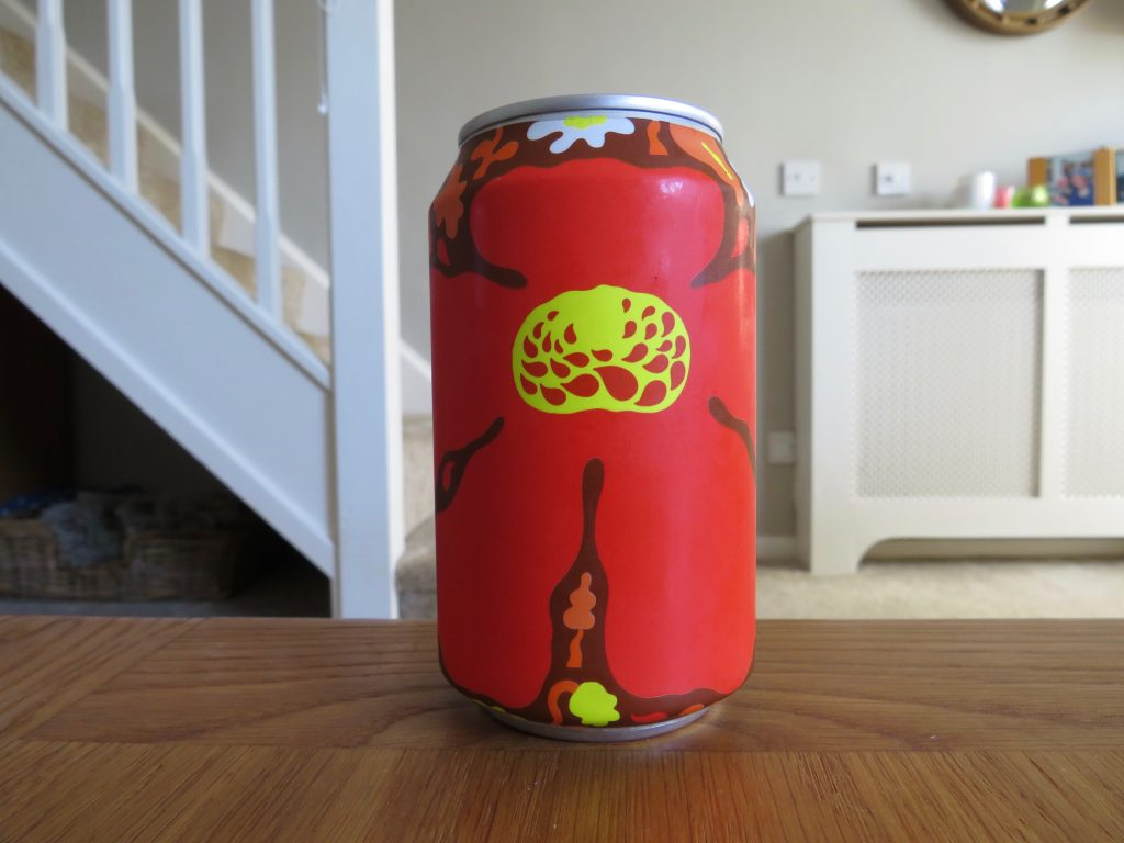 Can of Omnipollo Nyponsoppa rose hip beer