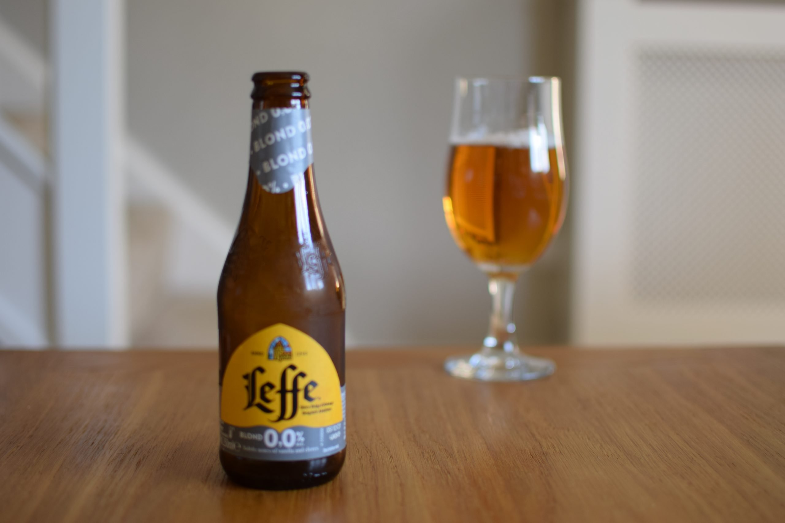 """""""Blond 0.0"""" (0%) by Leffe"""