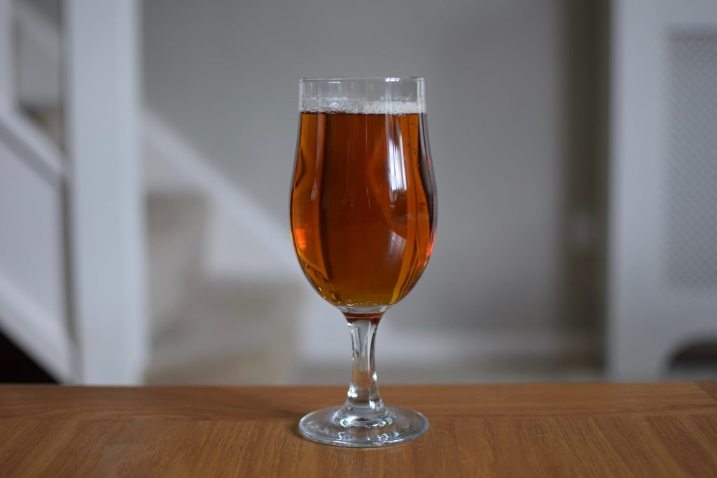 Days Brewing Pale Ale glass
