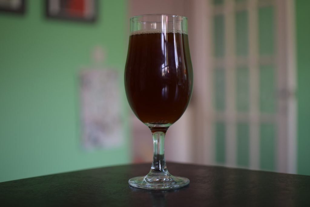 Glass of Fungtn Chaga Lager