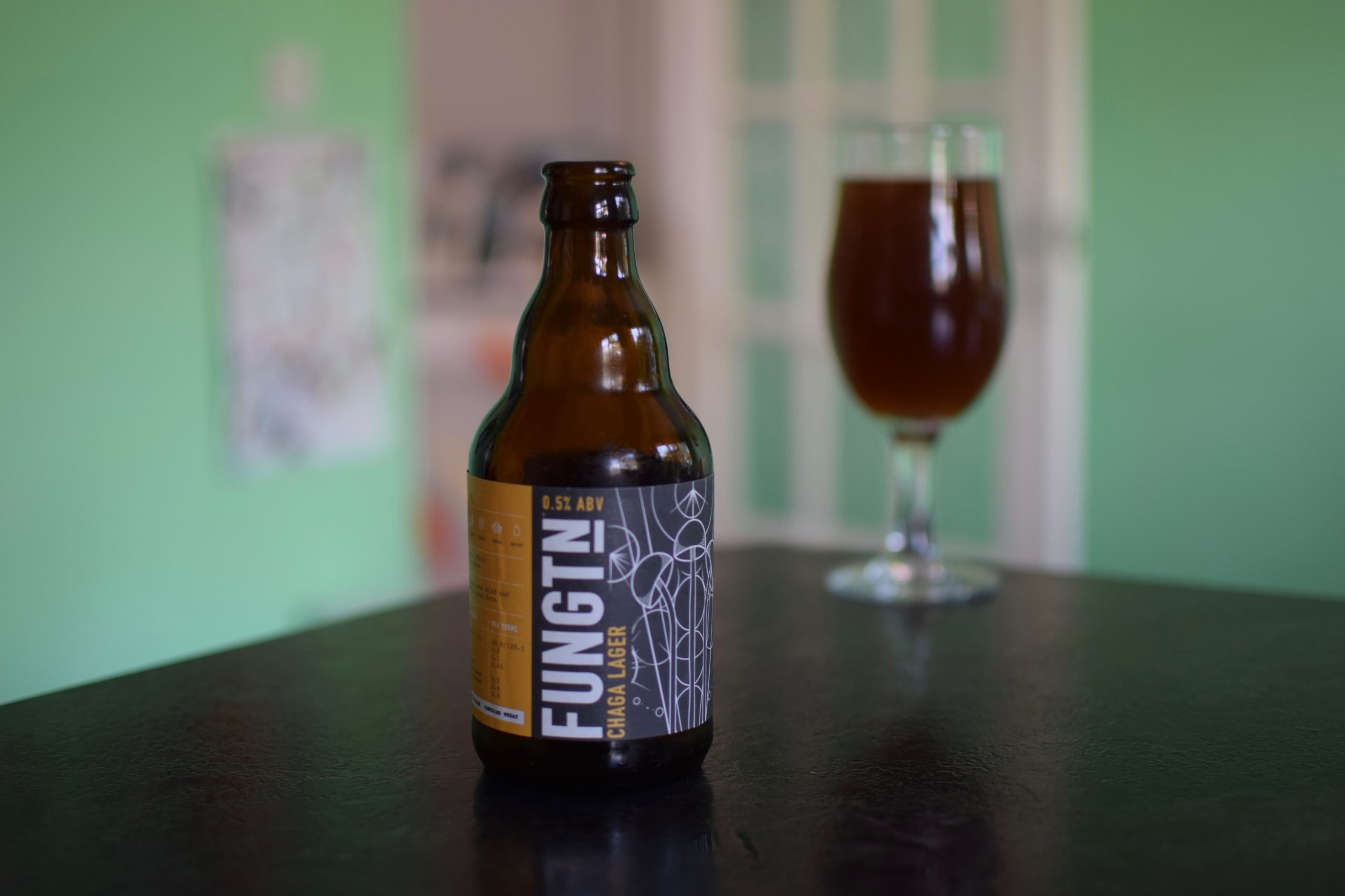 """Chaga Lager"" (0.5%) by Fungtn"